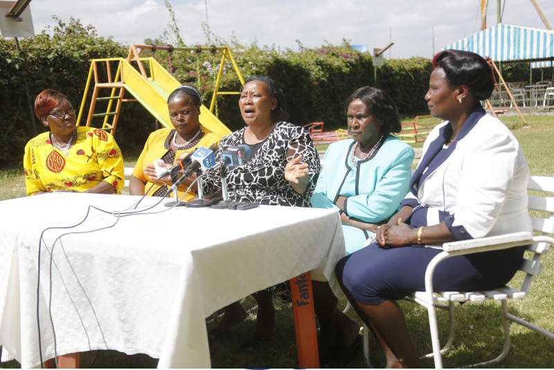 Kihika widows differ on succession battle