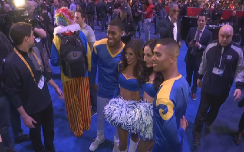 Male cheerleaders set to grace the Super Bowl