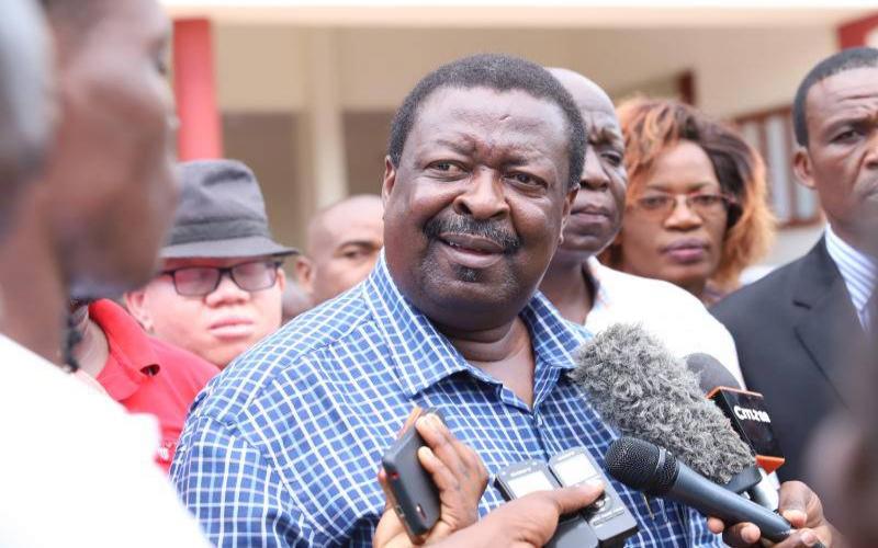 Musalia Mudavadi makes his harshest criticism of Uhuru