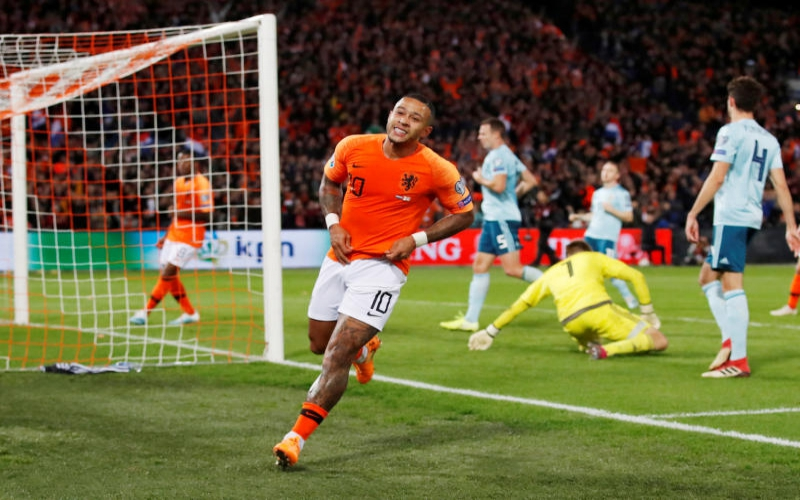 Netherlands forward Depay an injury doubt for key Euro match