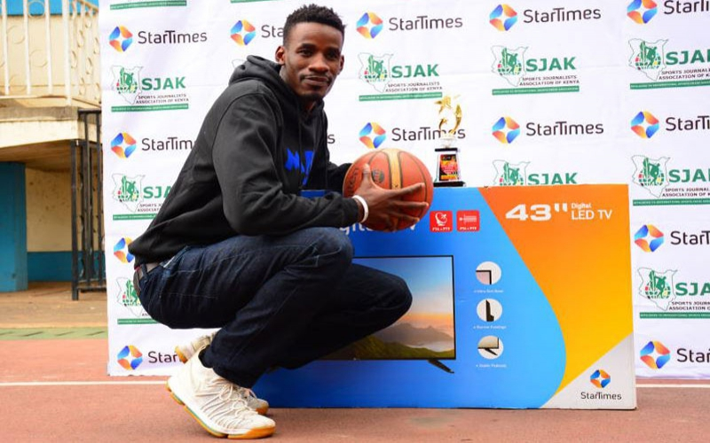 Okari bags StarTimes Sports Personality of the month