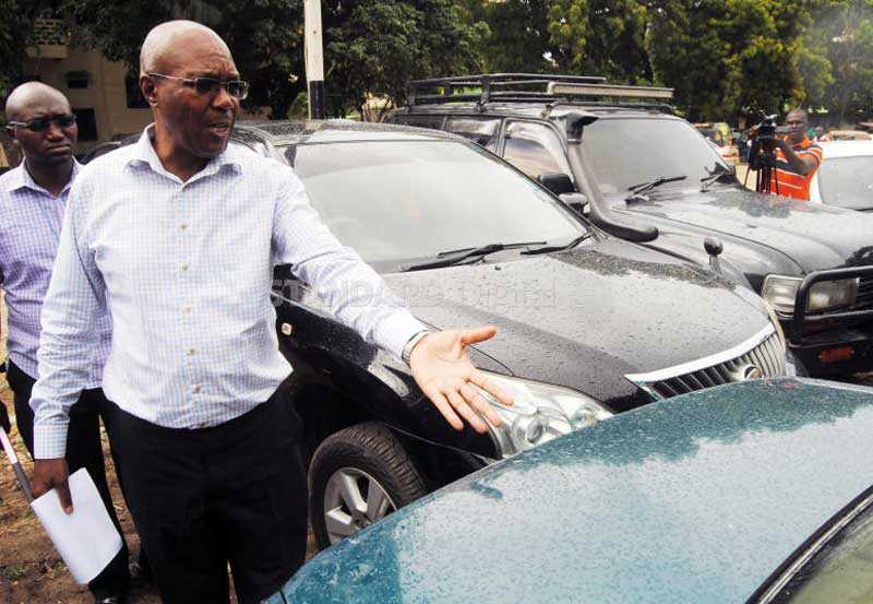 Police seize 21 cars worth Sh30m in sting operation