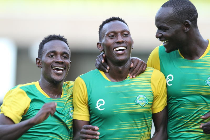 Six-star Sharks: Confederations Cup. Kenya's representatives in pole after thrashing Djibouti opponents