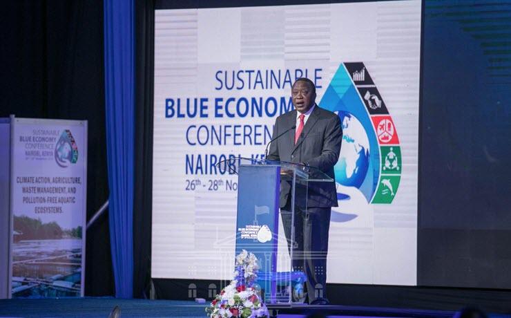 Uhuru urges investors to tap into blue economy