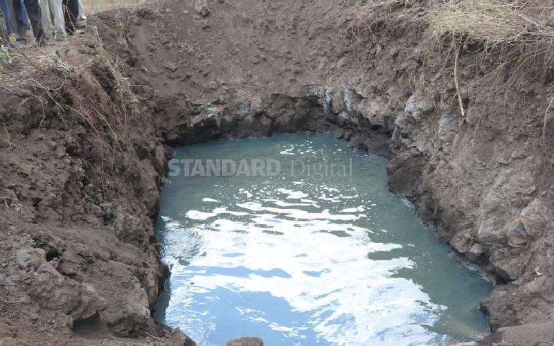 Water challenges still there despite devolution