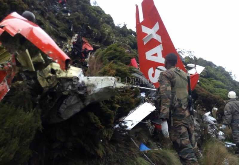Why Fly Sax plane crashed