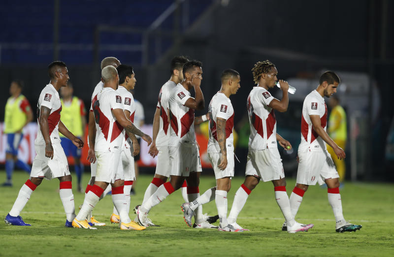 Two Peru players test positive for COVID-19 hours before Brazil game