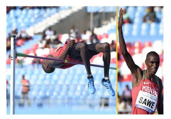 Two-time Africa high jump champion Mathew Sawe hopeful at the Tokyo Olympics