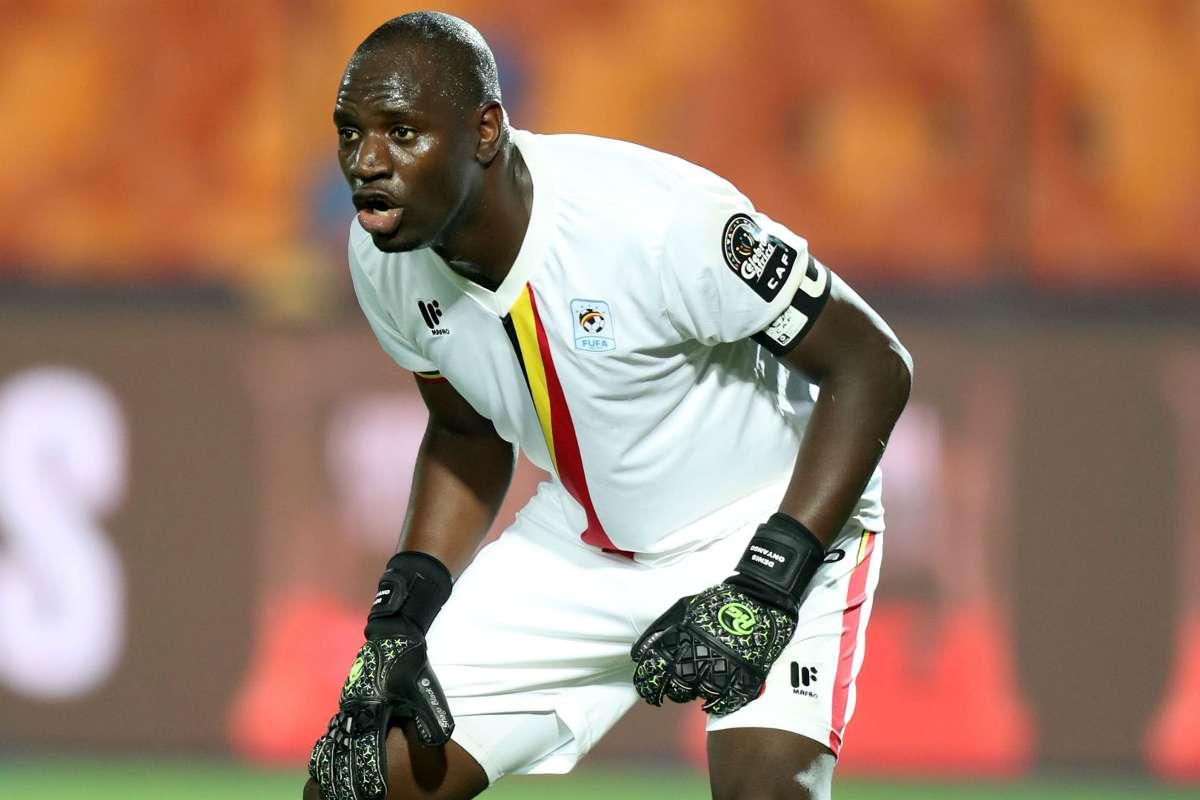Uganda Cranes captain Denis Onyango retires