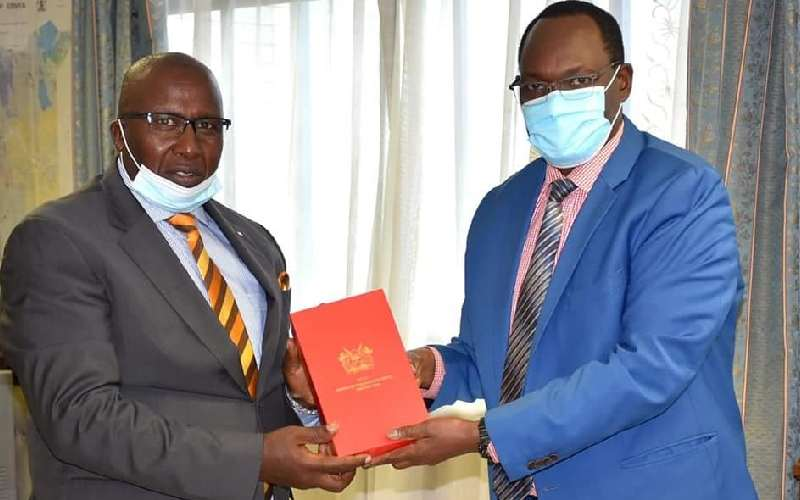 Uhuru decorates water agency CEO for conservation efforts