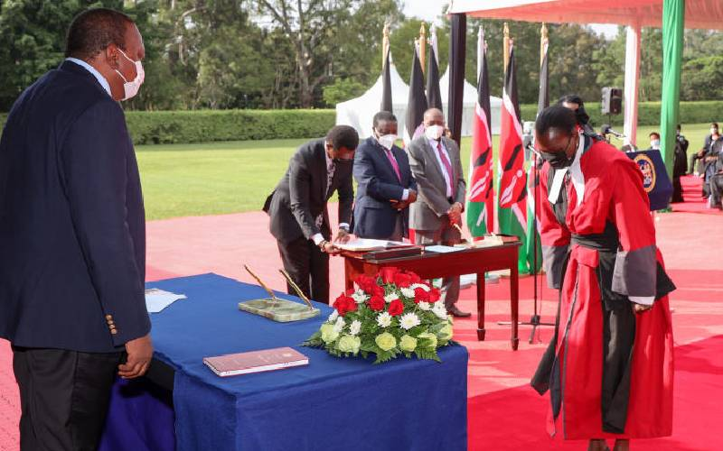 Uhuru has 13 months to secure legacy in face of succession race