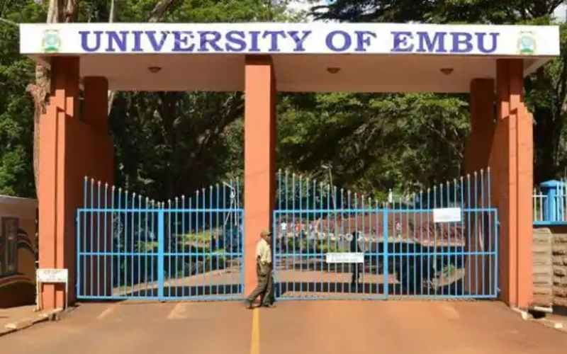 University of Embu beats giants, emerges top parastatal