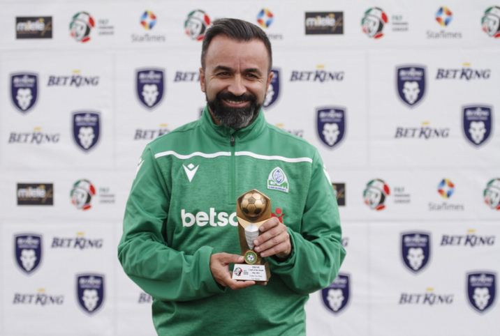 Vaz Pinto named FKF Premier League Coach of the Month