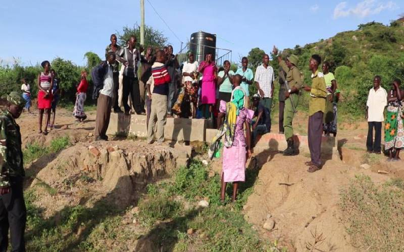 Water shortage looms as village's only borehole vandalised