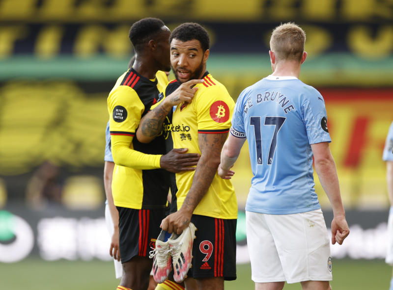 Watford relegation fears mount after thrashing by Man City