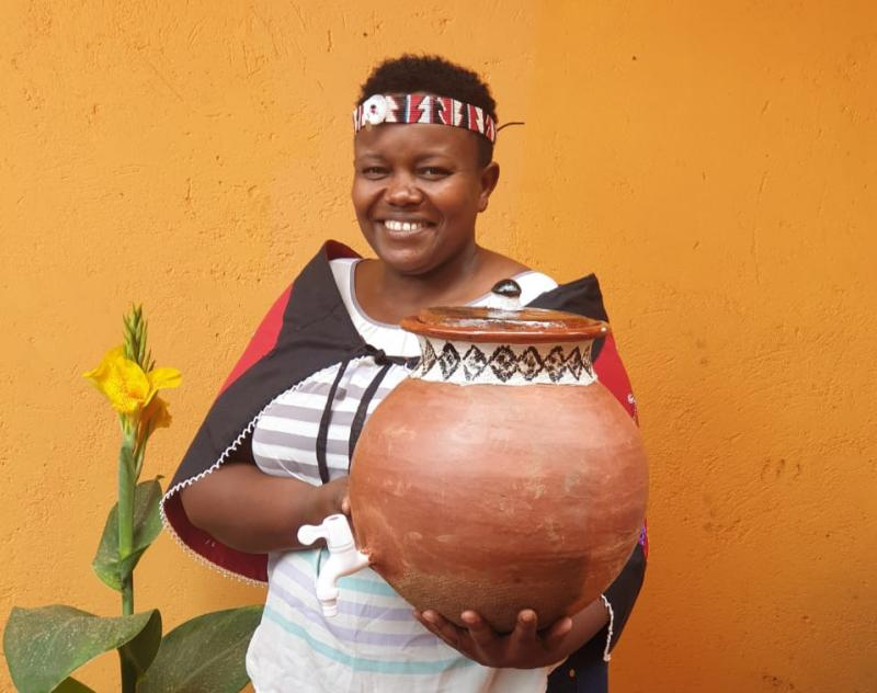 We started a thriving clay pot business and never looked back