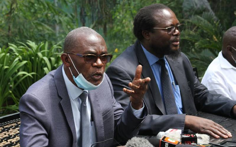 Why Ford-Kenya's fate is in the hands of registrar