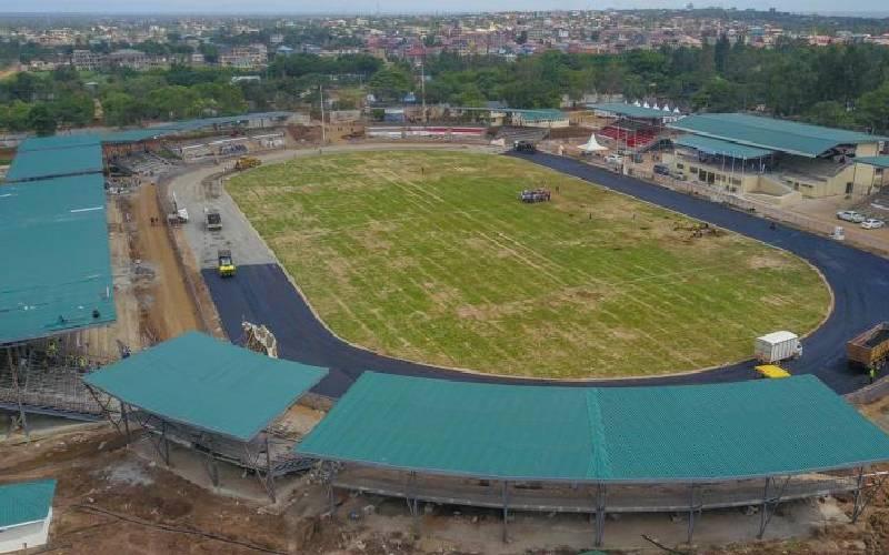 Why Jomo Kenyatta International Stadium has no walls