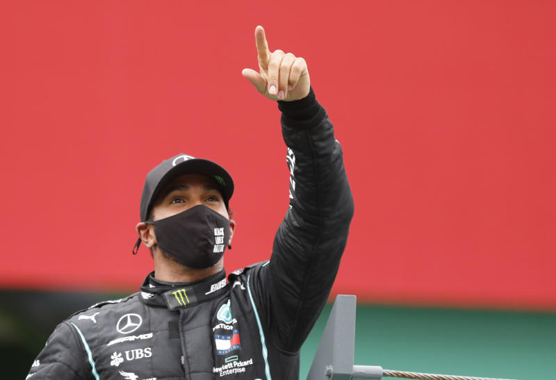 Why Lewis Hamilton stands alone in Formula One history