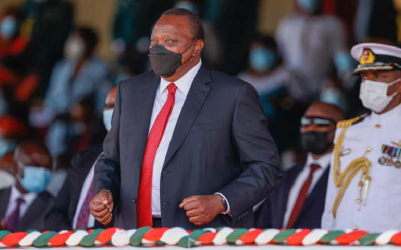 You shot down the people's will, Uhuru tells courts