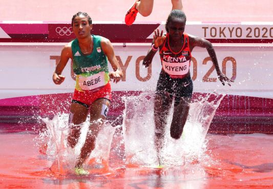 3,000m steeplechase duo of Chepkoech and  Kiyeng duo chase elusive medal