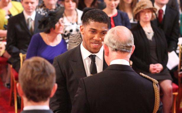 Anthony Joshua responds to coronavirus fears after Prince Charles diagnosis