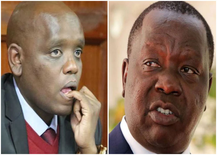 Apologise by Friday or we meet in court, Matiang'i tells Itumbi