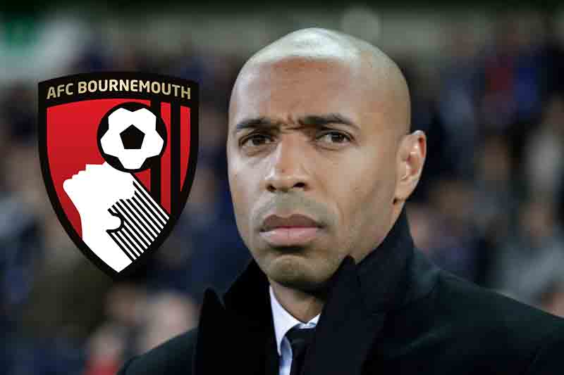 Arsenal legend Henry set to be named new Bournemouth boss