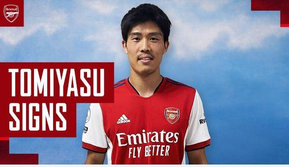 Arsenal sign Japan international Takehiro Tomiyasu