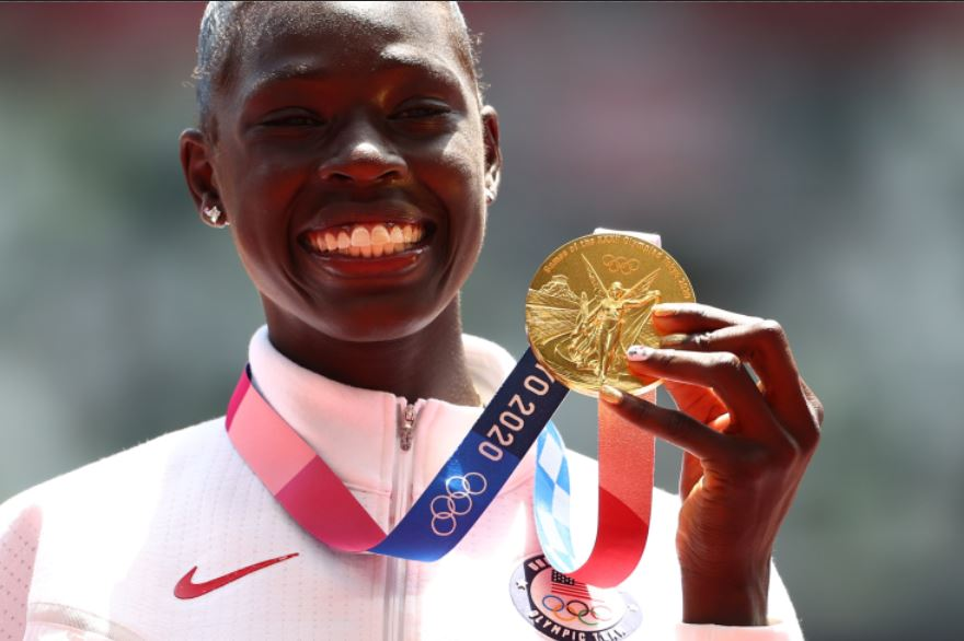 Athing Mu: 19-year-old Sudanese prodigy shining for USA at the Tokyo Olympics