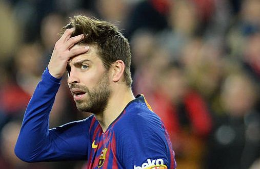 Barca's Pique investigated for remarks on referees favouring Real Madrid