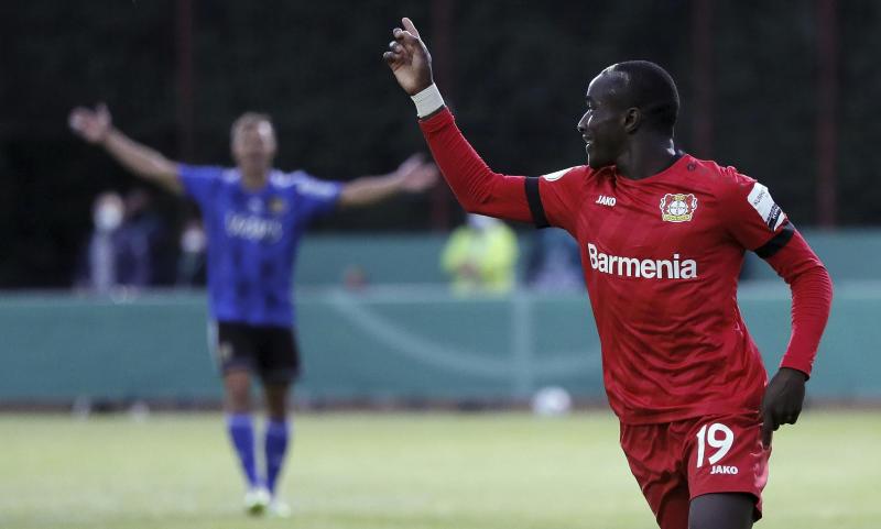 Bayer Leverkusen in the German Cup final