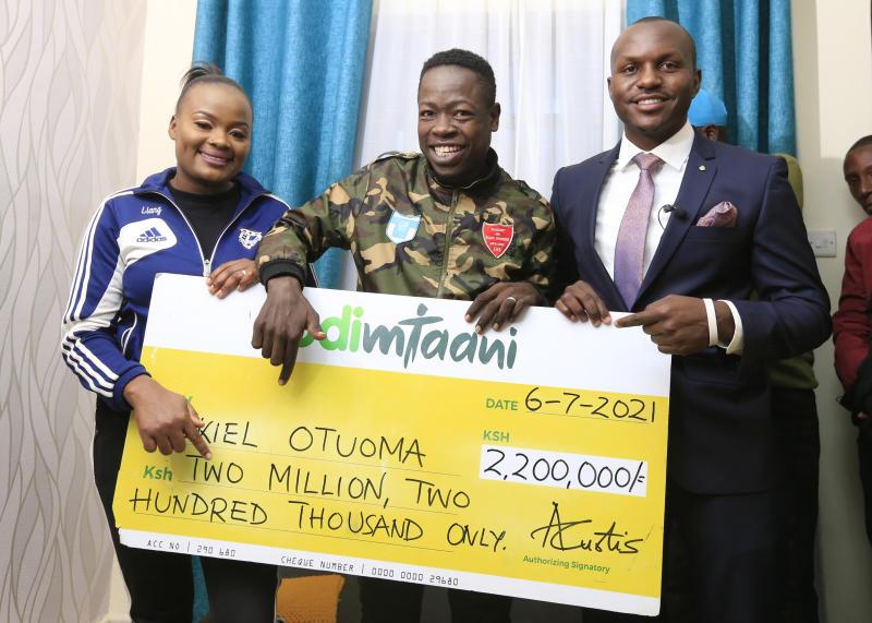 Betting firm settles footballer Ezekiel Otuoma's hospital bill