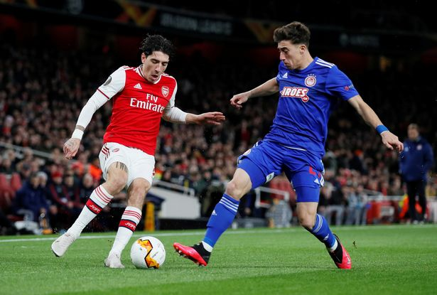 Boost for Arsenal as Olympiakos players' test negative for coronavirus