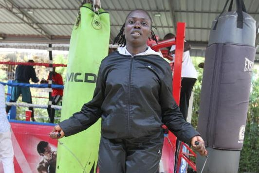 Boxer Akinyi's cherished dream to feature in Olympics