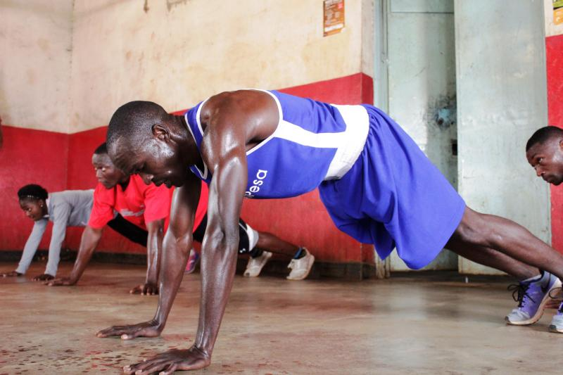 Boxing: Okoth keeps pressing on as he eyes Olympic gold medal in Tokyo