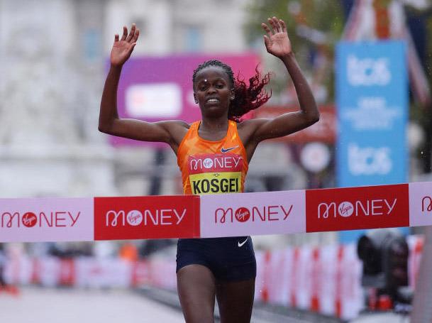 Brigid Kosgei nominated for 2021 Laureus World Sportswoman of the Year Award