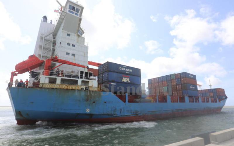 Business optimism is growing at Lamu port as two ships scheduled to call