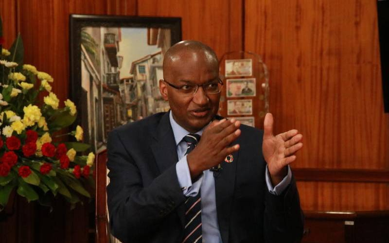 CBK says economy recovered in the first half of 2021