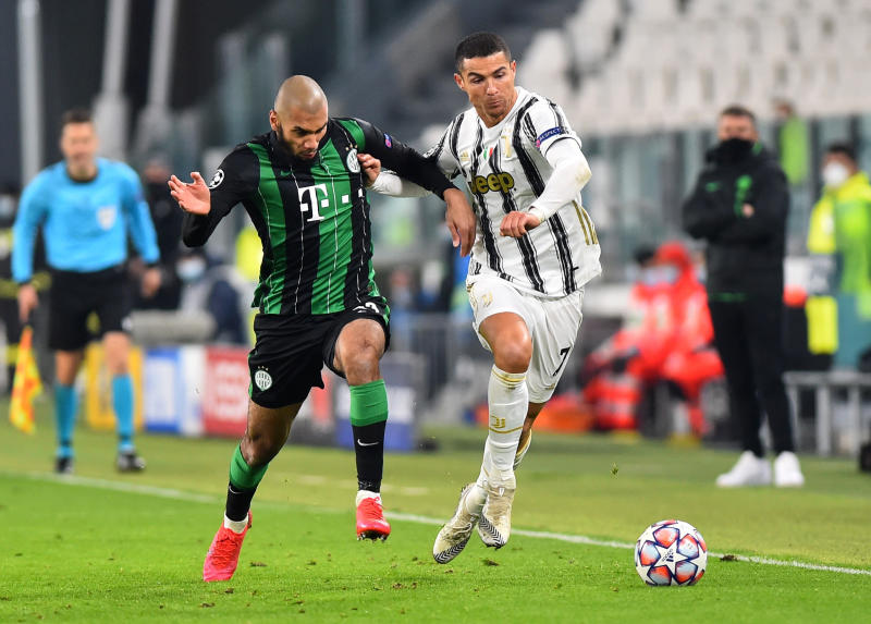Champions League: Juventus march into last 16 with 2-1 win over Ferencvaros
