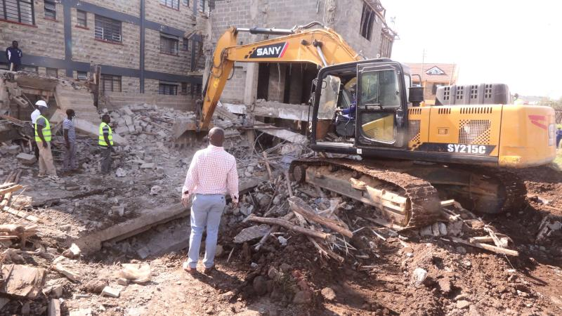 Investing in quicksand as buildings collapse across Kenya