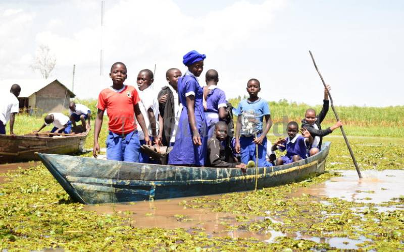County seeks lasting solution to Lake Victoria backflow