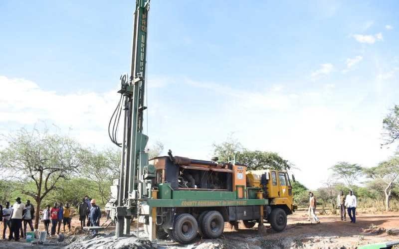 County sinks boreholes to ease access to clean water