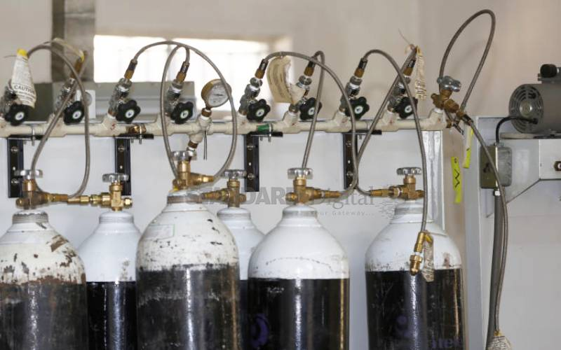 Crisis as hospitals run out of medical oxygen