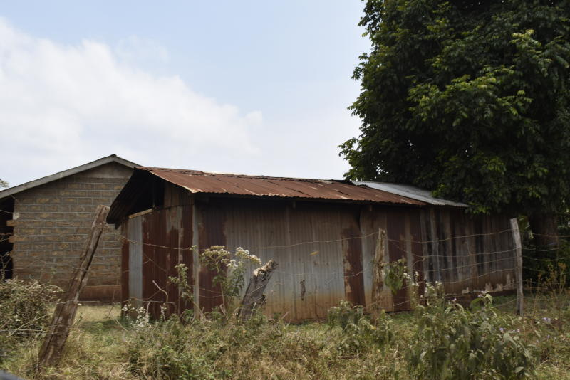 A dilapidated building at Kithoka Primary School in Meru County. (Photo: Olivia Murithi)