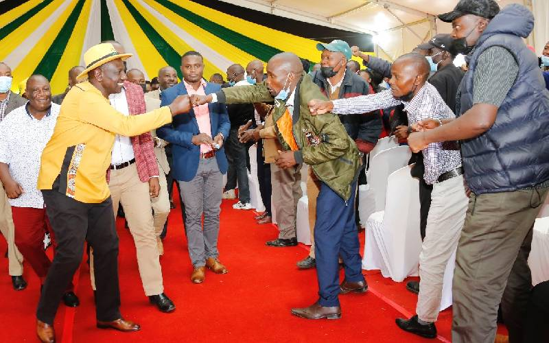 Deal with Laikipia violence, DP Ruto tells Mutyambai
