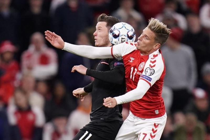 Denmark reach World Cup with 1-0 win over Austria