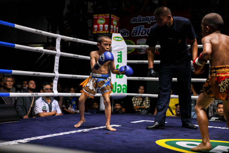 Despite risks, nine-year-old Thai fighter eager to return to ring