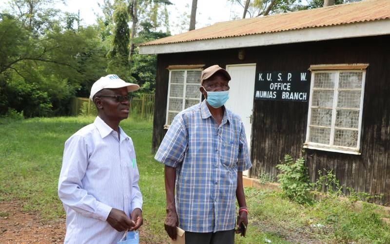 Destitute Mumias Sugar workers hang on to hope