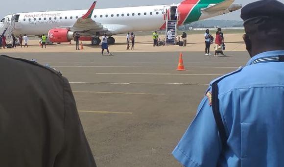 Busy airspace as domestic flights resume in Kenya